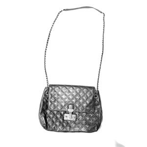 Marc Jacobs Purse- The XL Single in Antique Silver